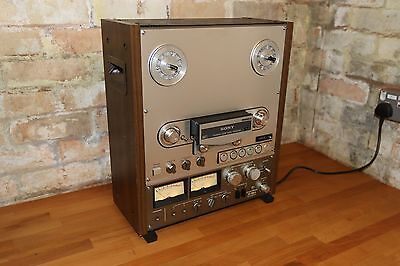 "Beautiful vintage Sony TC-766 reel to reel tape recorder 10.5""  2-track high sp"