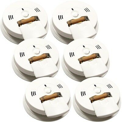 Kidde Battery Operated Combination Smoke and CO Alarm with Voice Alert (6-Pack)