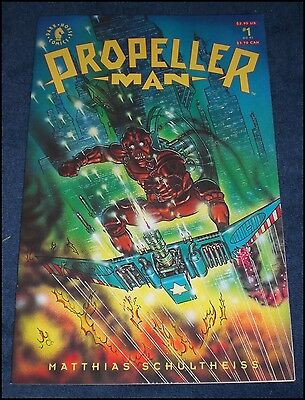 Propeller Man Comic Book Issue 1 Dark Horse Comics 1993 Matthias Schultheiss