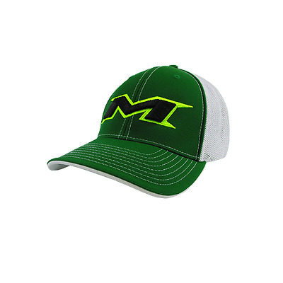Miken Hat by Pacific (404M) GREEN/WHITE/GRN/VOLT/BLK SM/MD ( 6 7/8- 7 3/8)