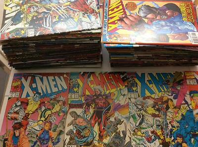 X-Men #1 to #113 near complete run (1991 Marvel 1st series) 101 x issues