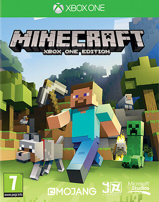 Minecraft Xbox One Edition Game Brand New Sealed Official Pal