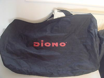 diono travel bag for pushchair buggy, fully zipped, shoulder strap