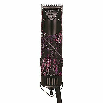 Oster Turbo A5 2 Speed MUDDY GIRL Pro Dog, Cat, Animal Clipper 78005-316