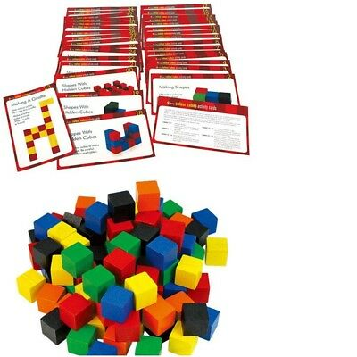 Cubes 2 cm Wooden x 102 Learning Resource