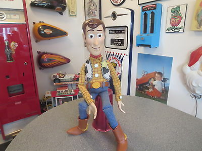 Disney Toy Story Talking Pull String Doll Woody Working