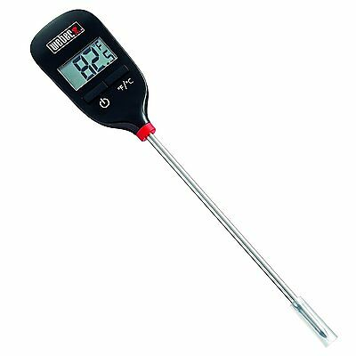 Weber 6750 INSTANT READ THERMOMETER Celsius or Fahrenheit cooking barbecue bbq