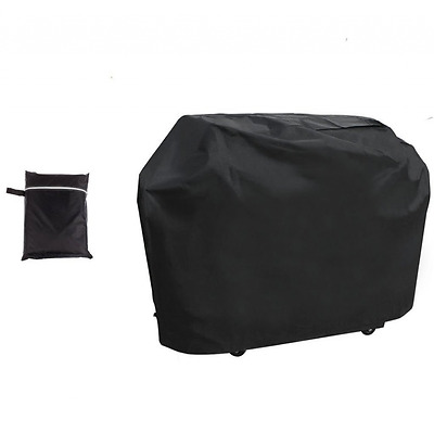 BBQ Grill Cover Extra Large Waterproof Durable Dust Rain Snow Protector Black