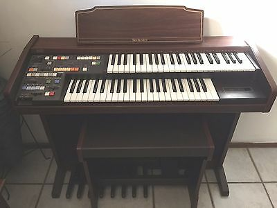 Technics Electronic Organ Pcm Sound E8L