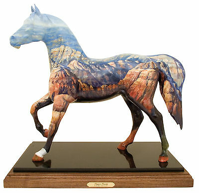 Trail of Painted Ponies CANYON BEAUTY Original Masterwork - 2 Feet Tall