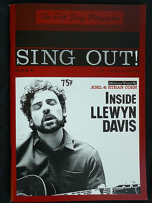Inside Llewyn Davis Oscar Isacc Promotional Press Book Booklet
