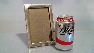 """Art deco period 1930 Rectangular silver frame good size 6.25 "" by 4.25"
