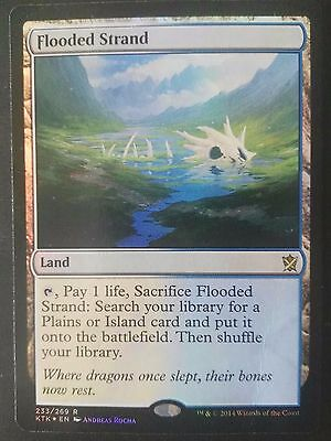 Flooded Strand FOIL Khans of Tarkir  Magic The Gathering MTG *SEE PHOTOS*