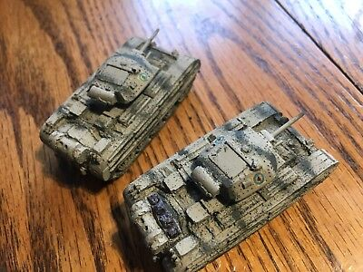 1/100th (15mm) WWII British Painted Cruiser A-15 Mark II Set of 2