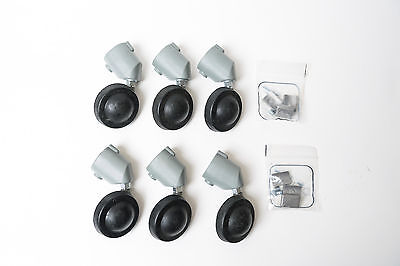 Manfrotto Casters for Light Stands (2 Sets of Three) New