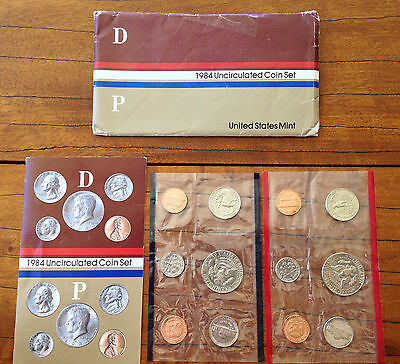 Usa 1984 Uncirculated Coin Set