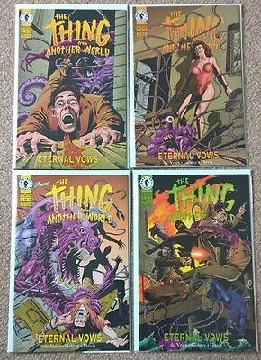 Dark Horse Thing From Another World  Eternal Vows 1-4 complete set 1993