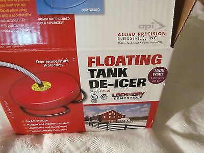 Floating Tank De-Icer Allied Precision Model 7521 1500 Watts To Be Used In Metal