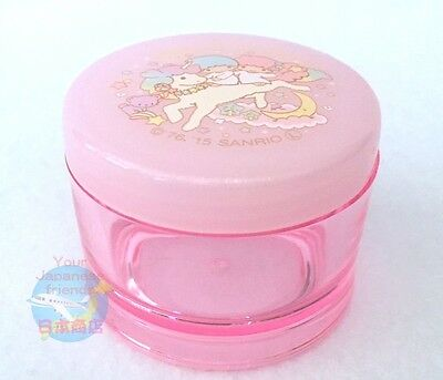 NEW! SANRIO Little Twin Stars KAWAII Cream Container with Spatula 25g Unicorn