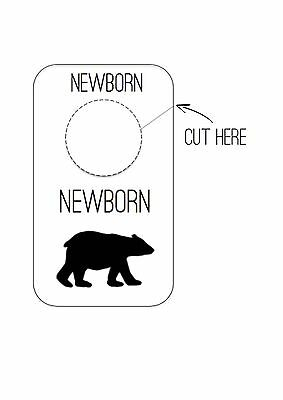 Baby Nursery Closet Wardrobe Divider Organiser ** DIGITAL FILE **