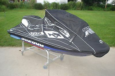 SEA DOO RXP COVER 2004 - 2006 Black With Dealer Logo New In Opened Box OEM
