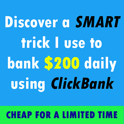 SMART Way To Make Money With ClickBank | CHEAP FOR A LIMITED TIME