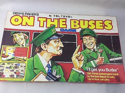 On The Buses - Board Game - Toltoys - 1973 - Vintage -