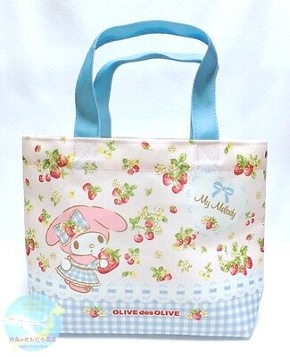 SANRIO OLIVE des OLIVE KAWAII My Melody Mini Tote Bag Polyester Thick Fabric