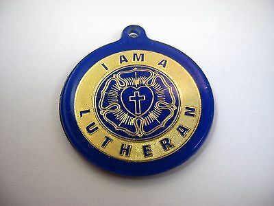 Vintage Keychain Advertising: AAL Life Insurance Aid Association for Lutherans