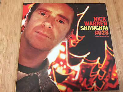 Nick Warren ‎– Shanghai GU  2x12 Mint / Unplayed trance progressive house Sasha