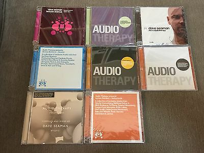 "Audio Therapy - Back Catalogue NEW 38x 12"" & 8CD SEAMAN SASHA DIGWEED PLAY LIST"
