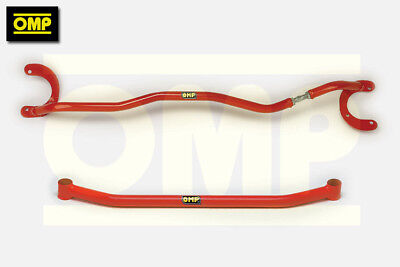 Omp Front Upper & Lower Strut Brace Fiat Seicento All