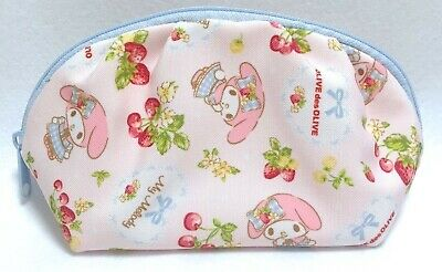 SANRIO & OLIVE des OLIVE KAWAII My Melody Pouch Polyester Partition Semicircle