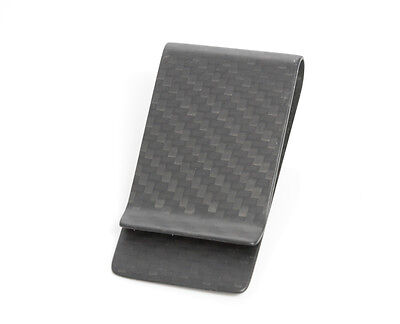 100% Matt Carbon Moneyclip - Geld klammer - Portmonaie - Money Clip -Matt Carbon