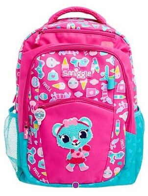 Smiggle Yay Backpack Pink BNWT Fab Bag For School Or Leisure