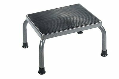 """Footstool Non Skid Rubber Flat Reach Step Up Down Shelve Safely High Capacity 9"""""""