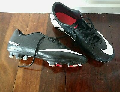 Nike Mercurial football boots US 8.5 UK 9.5 AFL, Soccer, Rugby
