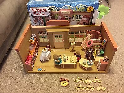 Sylvanian Families Vintage Village Boutique Boxed Plus Extra