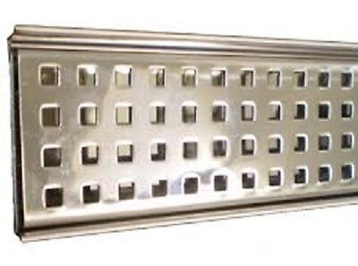 1200mm Stainless Shower channel drain grate floor waste RRP $199