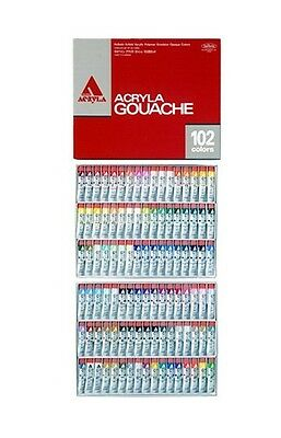 Made in JAPAN! Holbein ACRYLA GOUACHE 102 Colors All Set Tube 20ml D434 New