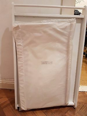 John Lewis Over bed/Cot Changing Table and Mattress