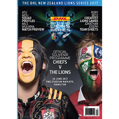 Chiefs v British & Irish Lions - 20 June 2017 - Official Programme