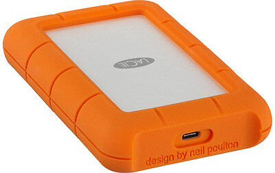 "LaCie Rugged USB-C 4 To - Disque dur externe 2,5"" USB-C"
