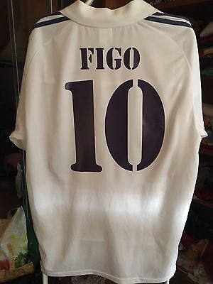 Camiseta Futbol Luis Figo Real Madrid Portugal Inter Milán Maglia Calcio