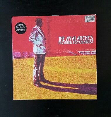 "The Avalanches Fronteir Psychiatrist Vinyl 12"" single 45 Rpm VG+/VG"