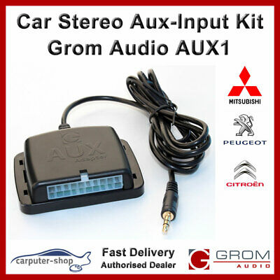 GROM Aux-in Auxiliary Adapter Kit - MITSUBISHI ASX LANCER OUTLANDER IMIEV #MIT8