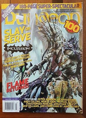 DUNGEON 100 magazine AD&D  july 2003