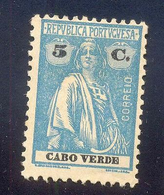 Cabo Verde 5 C Used Stamps A19432 Early Issue