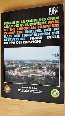 30/5/84 Roma v Liverpool EUROPEAN CUP FINAL - 120 Page Black Book Issue LAST ONE