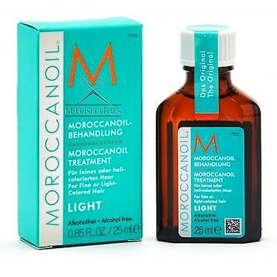 (€57,60/100ml) -10% gegen UVP! MOROCCANOIL Arganöl Treatment 25 ml light + BONUS